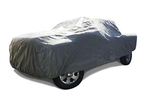 CarsCover 2002-2019 Ford F150 F250 F350 Crew Cab 8ft Long Bed Box Truck Car Cover Heavy Duty All Weatherproof Waterproof Ultrashield