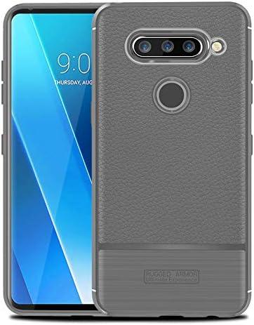 Cruzerlite Funda LG V40 ThinQ, Funda LG V40, Flexible Slim Case ...