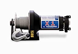 Superwinch 1117 X1 24VDC winch, rated line pull of 2,000 lb/907 kg