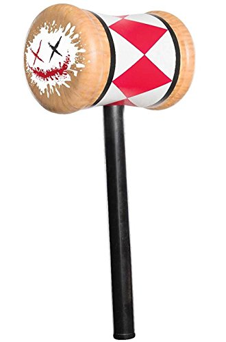 Rubie's Women's Suicide Squad Harley Quinn Mallet, As Shown, One Size]()