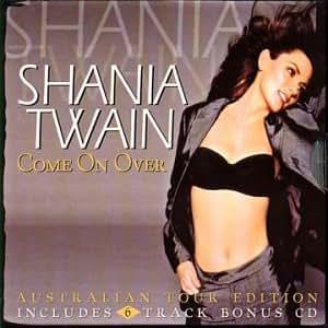 Shania Twain Come On Over Bonus Cd Amazon Com Music
