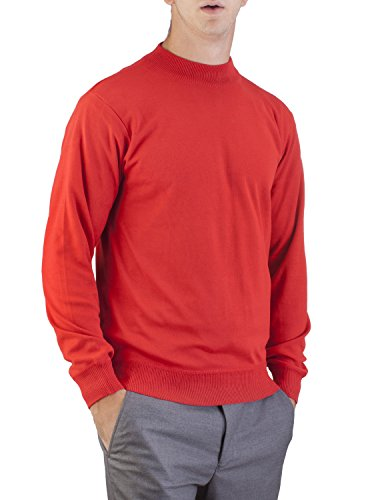00f65574275f2e Alberto Cardinali Men's Mock Neck Sweater at Amazon Men's Clothing store:
