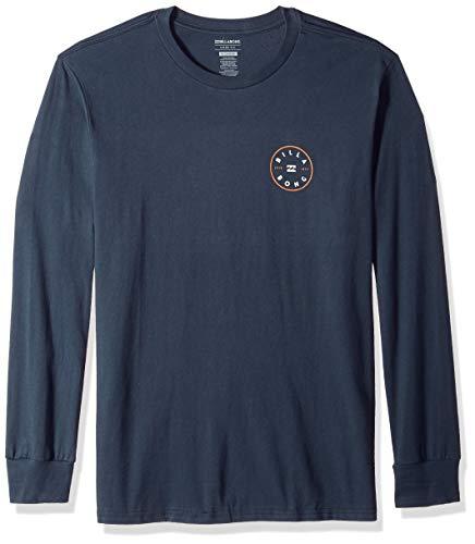 Billabong Men's Long Sleeve T-Shirts, Navy, S