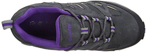 Low Tec Hi Boots Hiking Women's Fusion Purple Grey Beige Waterproof Sport dtwOaw7