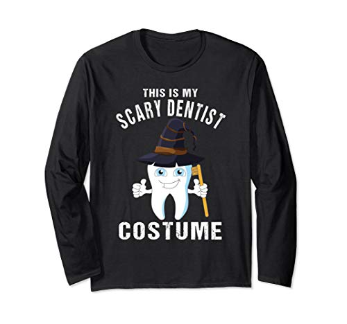 Dentists Halloween Costume T-shirt Tooth Toothbrush -