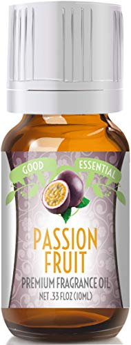 (Passion Fruit Scented Oil by Good Essential (Premium Grade Fragrance Oil) - Perfect for Aromatherapy, Soaps, Candles, Slime, Lotions, and More!)