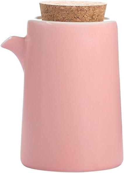 300ML,10oz Bouteilles de distributeur dhuile de c/éramique,Distributeur en c/éramique de bouteilles dhuile et de vinaigre,bouteille de sauce soja//vinaigre//huile dolive,distributeur de condiments