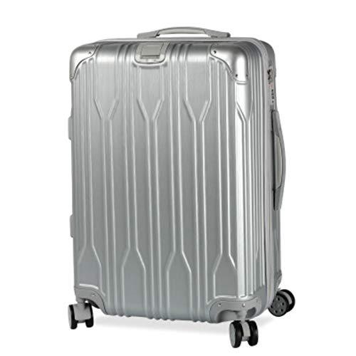 トロリーケースユニバーサルホイールスーツケースPC荷物20インチ搭乗ケース (Color : シルバー しるば゜, Size : 26 inches)   B07R1X8SCX