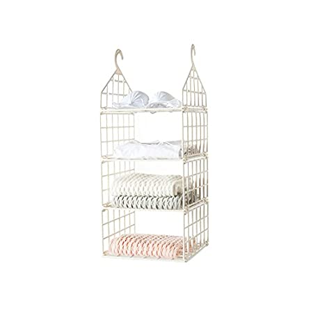 Amazon.com: WuKong Hanging Closet Organizer 3 Shelf Sweater Organizer  Shelves (big)