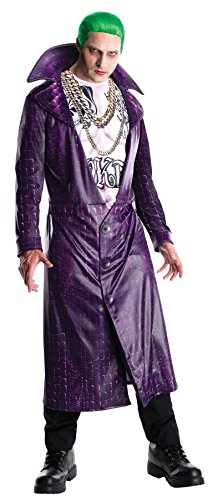 The New Joker Costume (UHC Men's Dc Comics Suicide Squad Joker Outfit Theme Party Halloween Costume, STD (42-44))