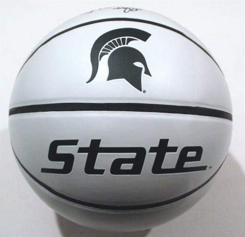 24810acb432a TOM IZZO signed (MICHIGAN STATE SPARTANS) Full Size logo basketball W COA -  Autographed College Basketballs at Amazon s Sports Collectibles Store