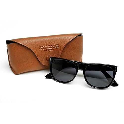 66f8abf20d Catania Occhiali ® Gafas de Sol Polarizadas - Modelo Wayfarer Vintage  Classic - Gafas Unisex -