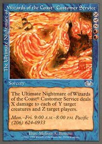 Magic: the Gathering - The Ultimate Nightmare of Wizards of the Coast Customer Service - - Customer Usa Service
