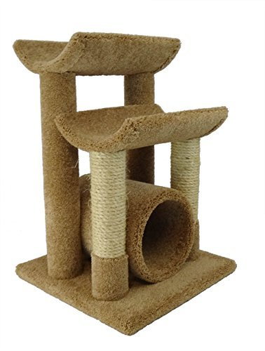 New Cat Condos Premier Cat Scratch and Sleep Furniture, Brown