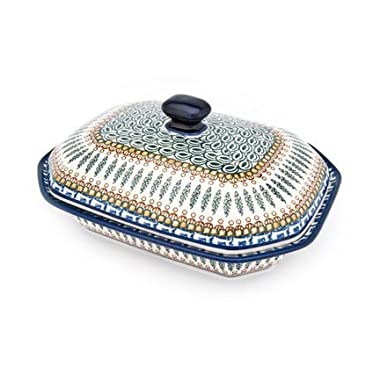 Polish Pottery Tuscany Medium Covered Baking Dish