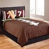 FOOTBALL Field Goal 5-Piece Twin Comforter Set