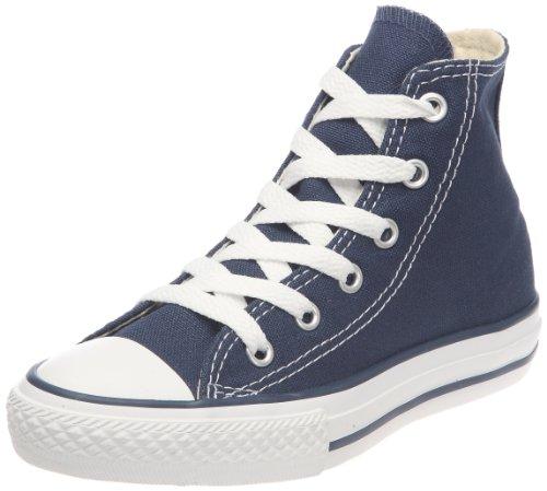 Converse Unisex-Kinder CTAS-Hi-Navy-Youth Hohe Sneakers Blau (Navy)