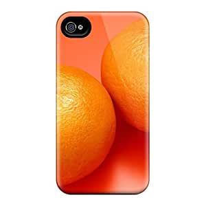 Awesome Design Two Oranges Hard Case Cover For Iphone 4/4s