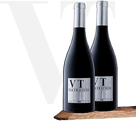 Vino Tinto D.O. Ribera del Duero VT Vendimia Seleccionada Valtravieso | Pack 2 Botellas