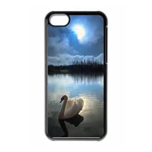 Protection Cover Hard Case Of Swan Cell phone Case For Iphone 5C