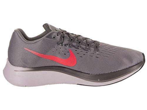 Nike Heren Zoom Fly Loopschoen Gunsmoke / Heldere Karmozijn