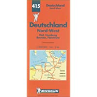 Carte routière : Allemagne Nord-Ouest, N° 415