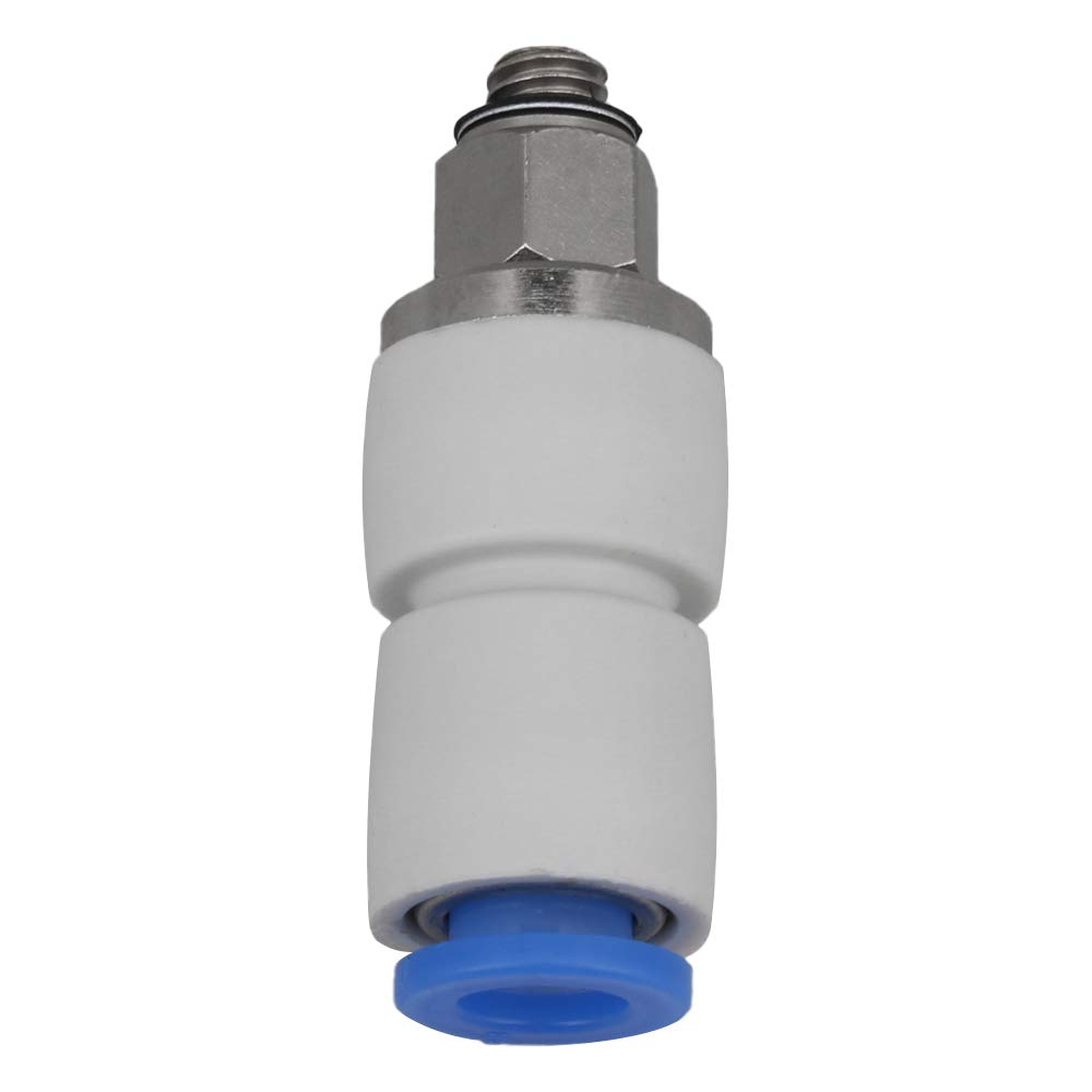 KSH Straight High-Speed Rotary Trachea Connector Connect Tube Fitting M5x6