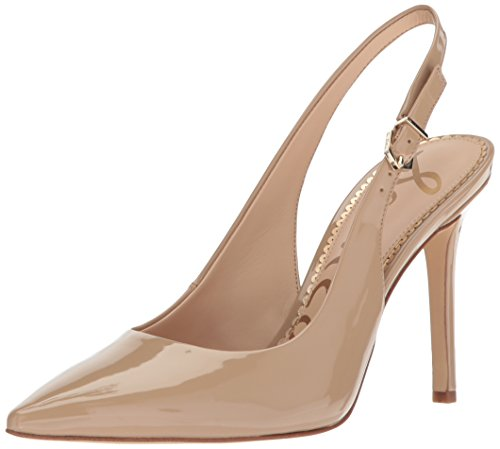 (Sam Edelman Women's Hastings Pump, Classic Nude Patent, 7 Medium US)