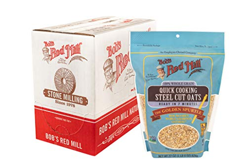 Quick Cooking Steel Cut Oats (22 Ounce (Pack of 4)) (Bobs Red Mill Steel)
