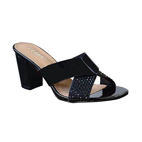 Caviglia Con Da Cinturino Diamante Incrociato Sandali Donna Cule Aubrey Tacco Alla B0wOqHR