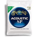 Martin SP 80/20 Acoustic Guitar Strings - Bronze Wound Extra (Light.010 - .047)