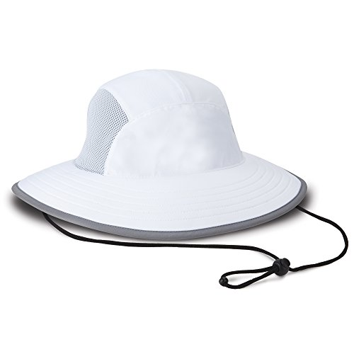 Imperial Coolcore Old Norse Bucket Hat, White, Sized (L/XL) ()