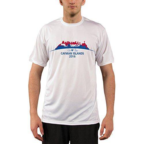 Price comparison product image Vapor Apparel Rio Team Cayman Islands Men's UPF Performance T-shirt XXX-Large White