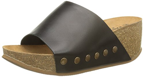 Pastelle Debra - Zuecos Mujer Negro - negro