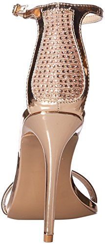 Rose Single Gold Women's Qupid Sandal Sole Heeled 5XzTYw