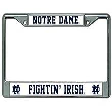 Notre Dame Fighting Irish Chrome Frame