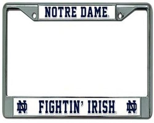 Rico Notre Dame Fighting Irish Chrome Frame, ( 094746098902 )