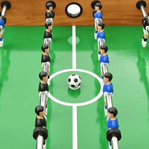 Festnight Juego de Mesa de Fútbol Futbolin Plegable Futbolín ...