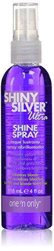 - One'N Only Shiny Silver Ultra Shine Spray,4 oz