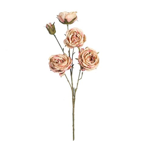Better Crafts EVERYDAY LONGSTEM ROSE SPRAY X5 PEACH 26 INCHES (12 pack) (0DC-8622-240)