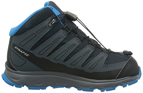 Salomon Zapatos para niños Kids Sinapsis MID 368910 Negro Deep Blue Gris Denim Blue metilo Deep Blue/Grey Denim/Methyl Blue