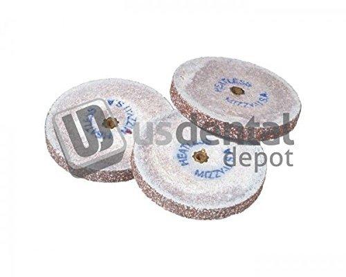 KEYSTONE - #5 Mizzy Heatless Wheels - Red - 50pk - 0.88in x 6131605 Us Dental Depot