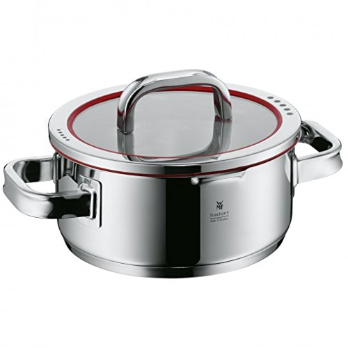 WMF 07 6020 6380 2.5 quart Function Four Pan, Silver by WMF