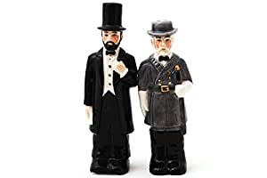 Civil War: Abraham Lincoln & Robert E. Lee: Kitchen Salt & Pepper Shaker Set