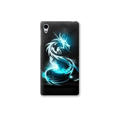 case-schale-sony-xperia-xz-fantastique-dragon-bleu-n