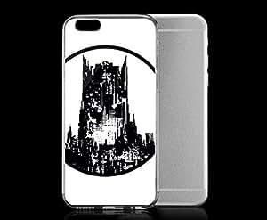 Light weight with strong PC plastic case for iphone 4 4s Comics DC Comics Batman Batman Architecture