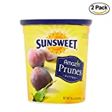 SUNSWEET Amazin Pitted Prunes, 16 oz, Pack of 2