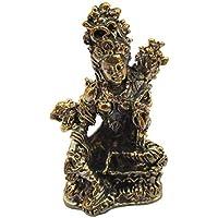NagaPatches Personaggio Statuetta Parvati déesse Induismo procreazione in ottone
