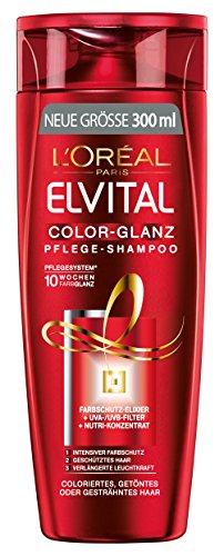 L'Oréal Paris Elvital Shampoo Color-Glanz, 3er Pack (3 x 300 ml)