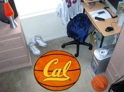 California - Berkeley UC University of Basketball Rug